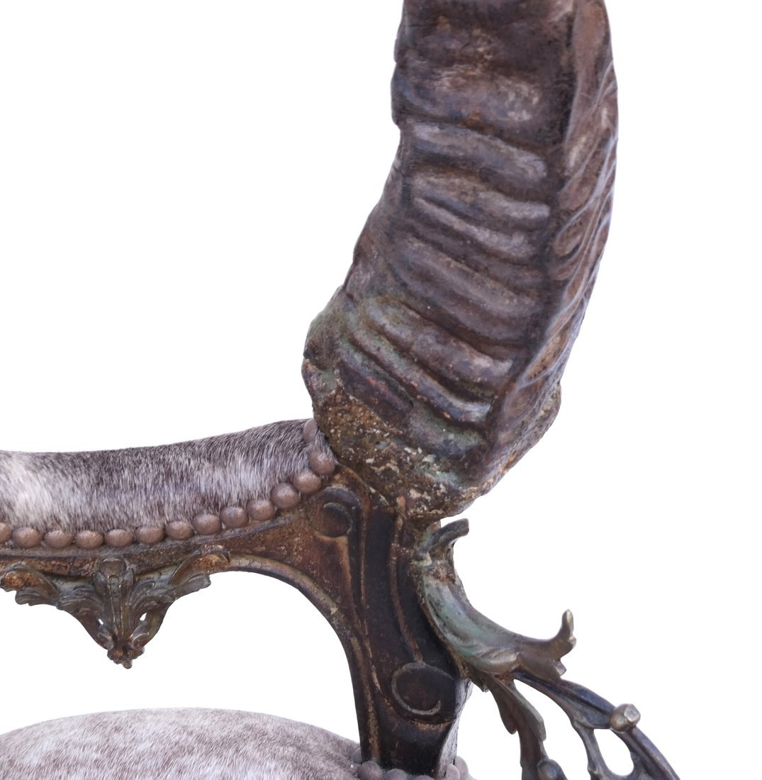 Horn Form Side Chair - 8