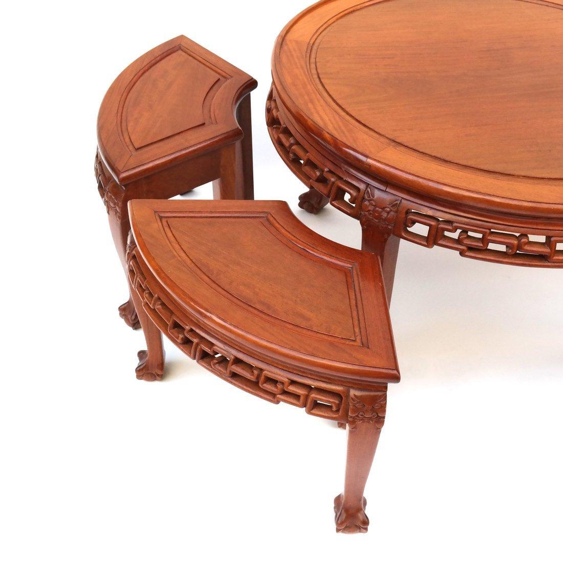 Asian Five Piece Table Set - 2