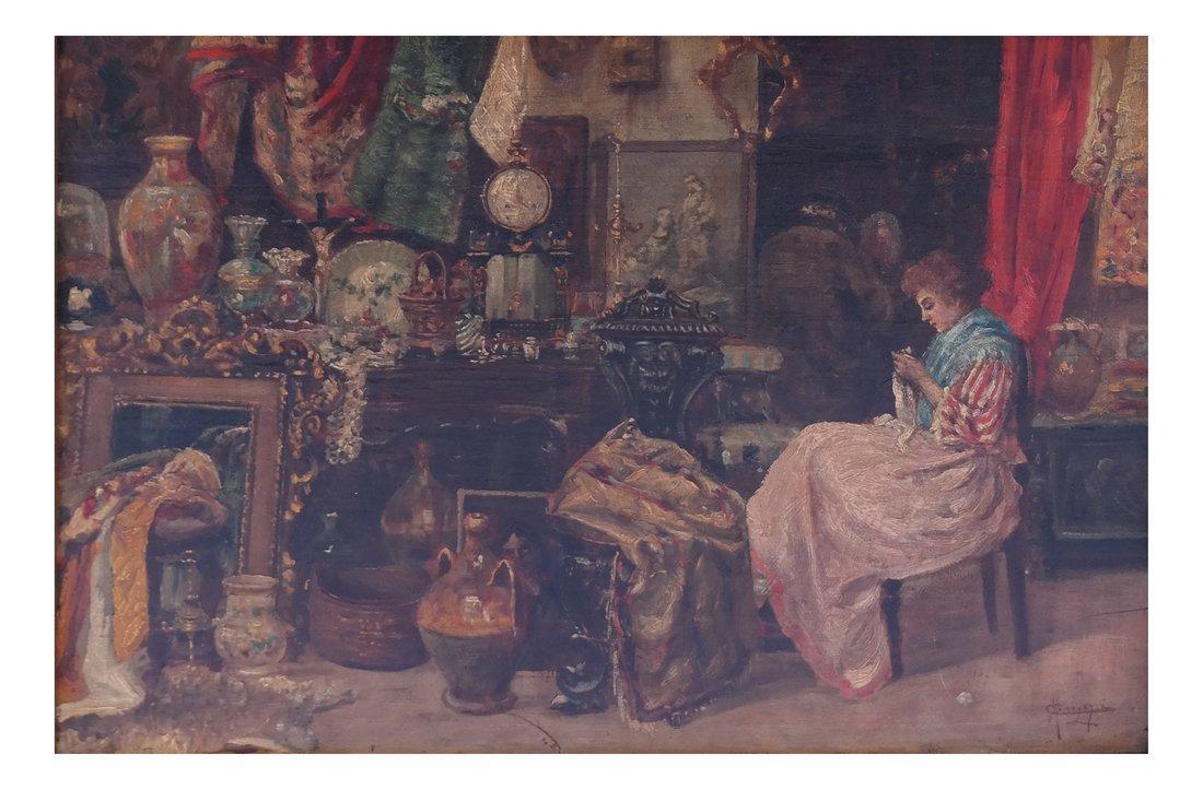 Carlos Menegazzi, Interior Scene