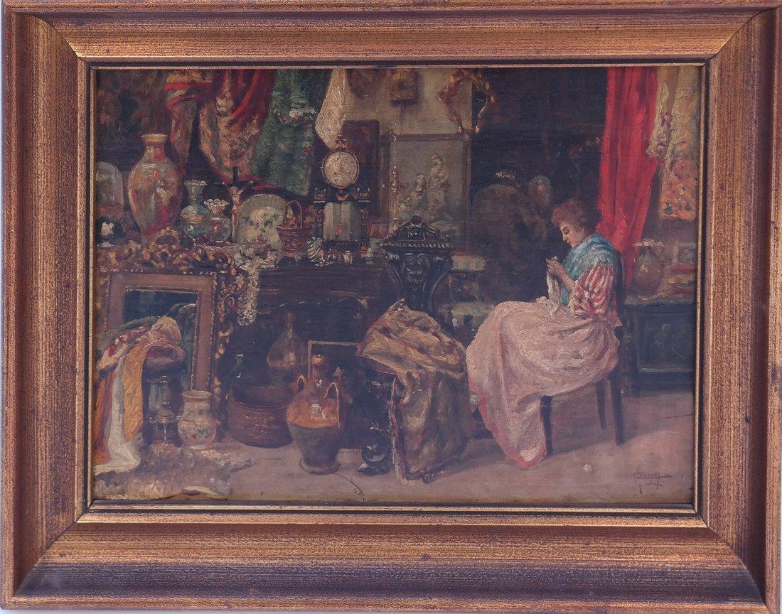 Carlos Menegazzi, Interior Scene - 2