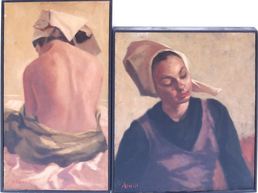Alfieri, Two Portraits