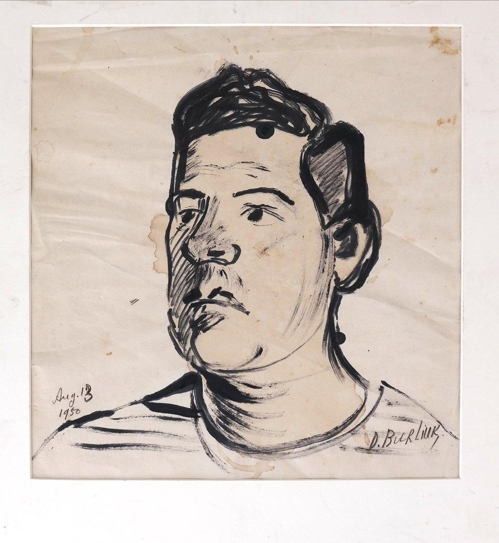 David Burliuk, Self Portrait - 2