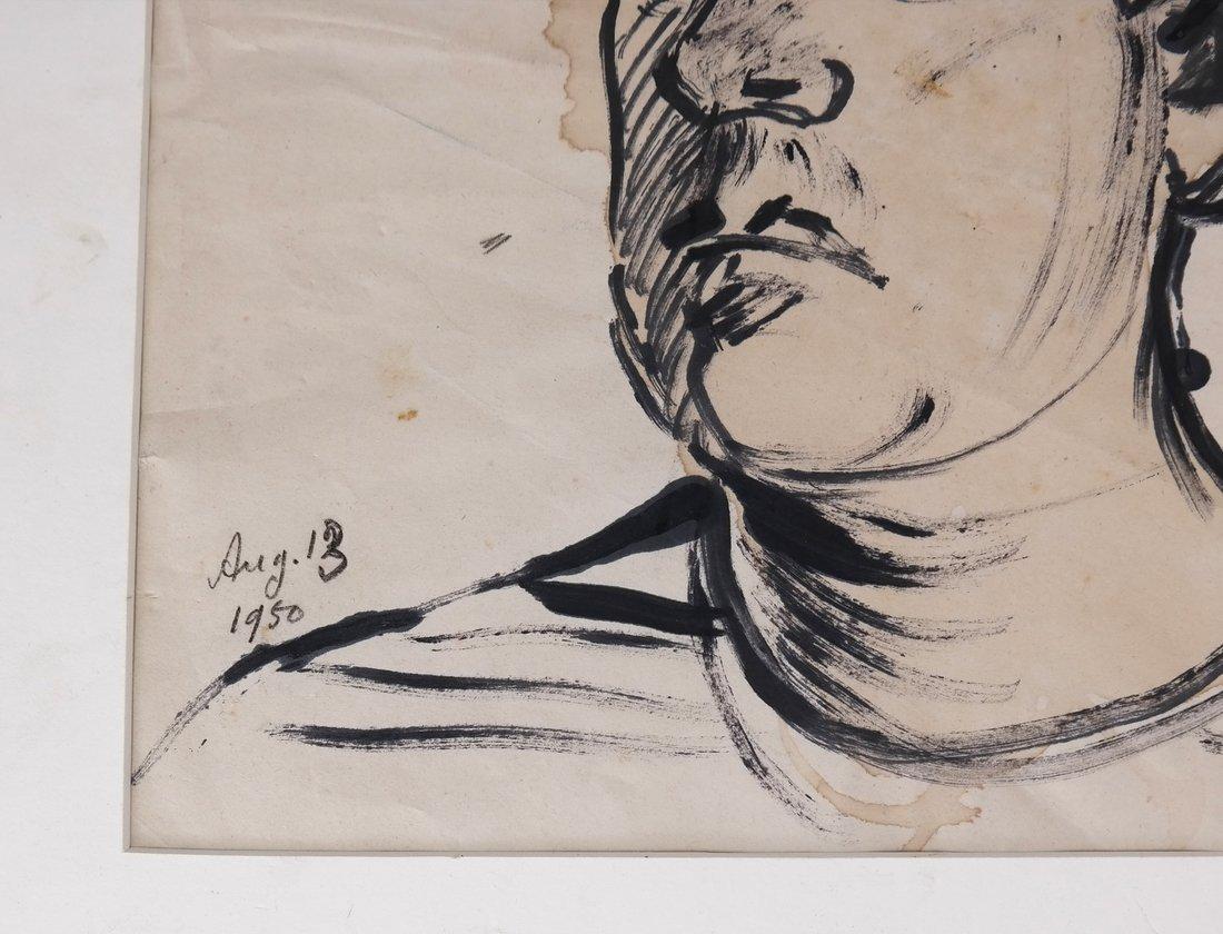 David Burliuk, Self Portrait - 3