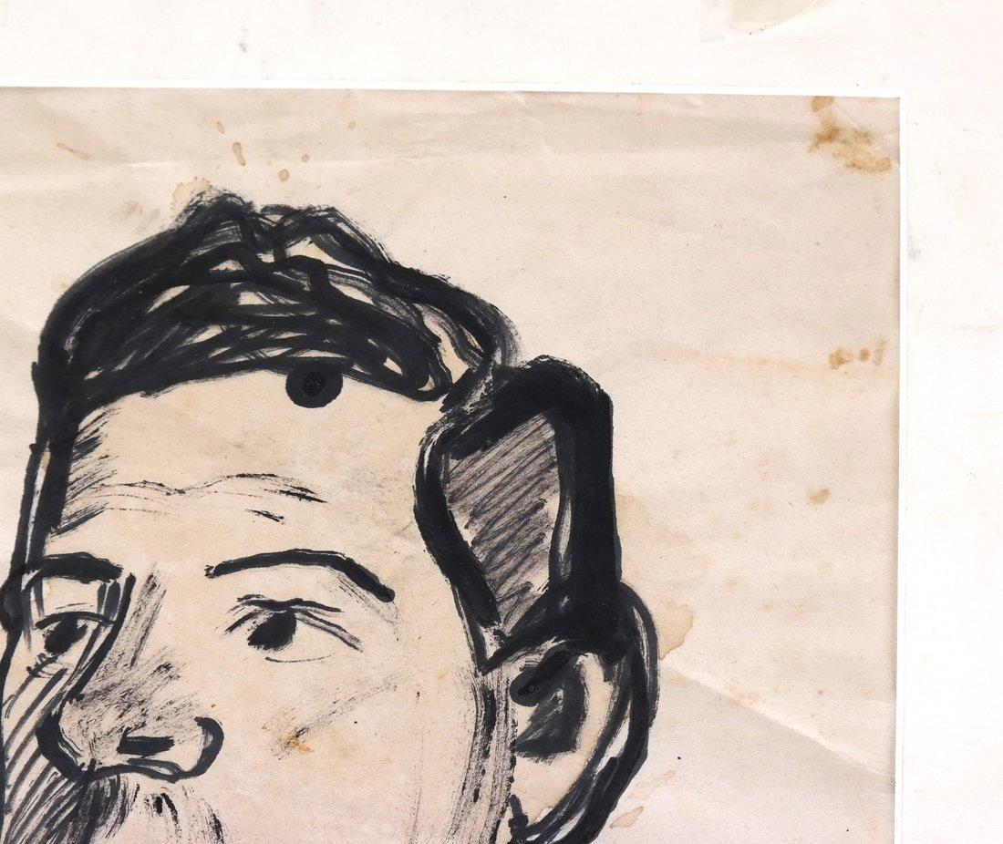 David Burliuk, Self Portrait - 4