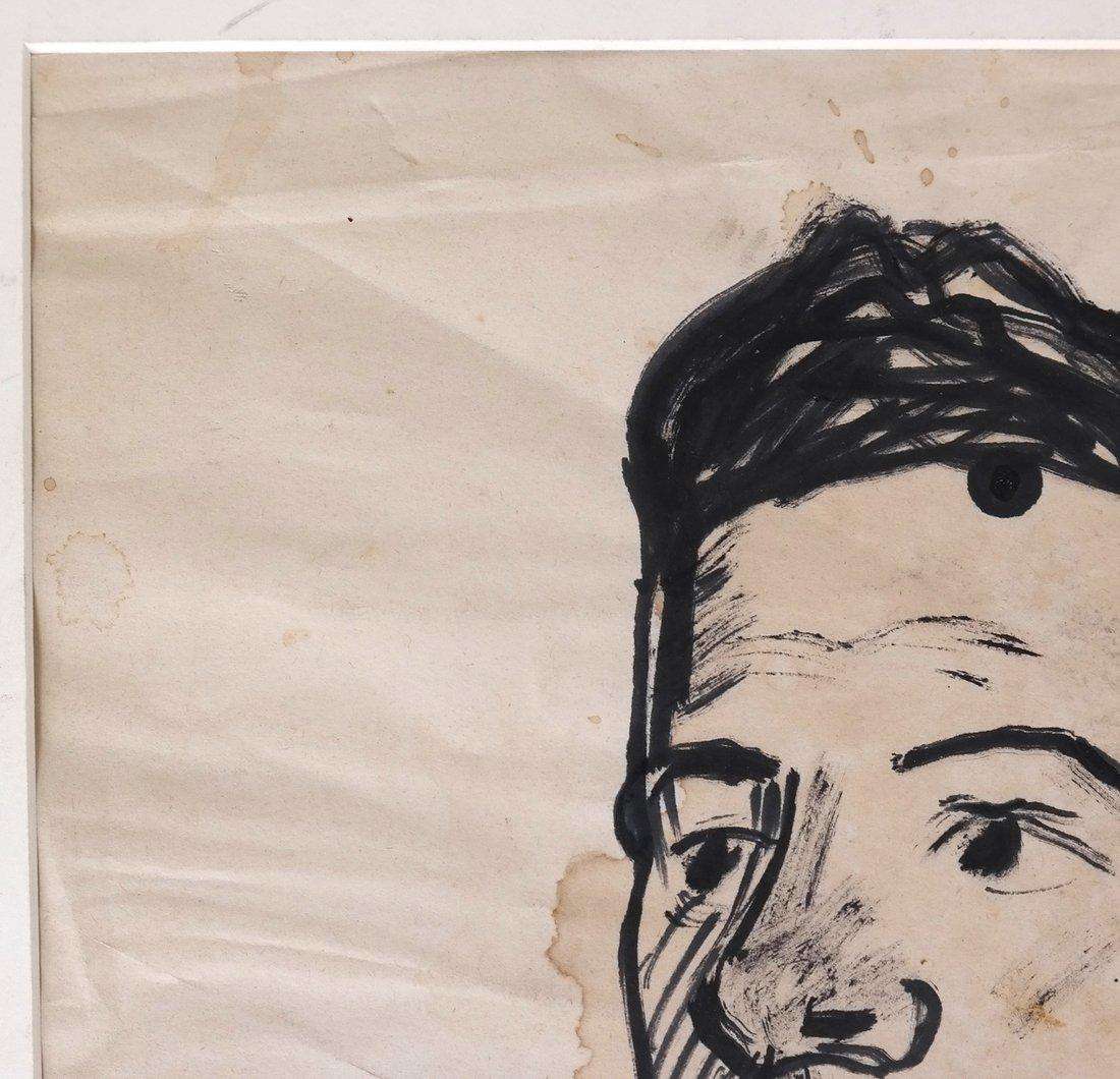 David Burliuk, Self Portrait - 5