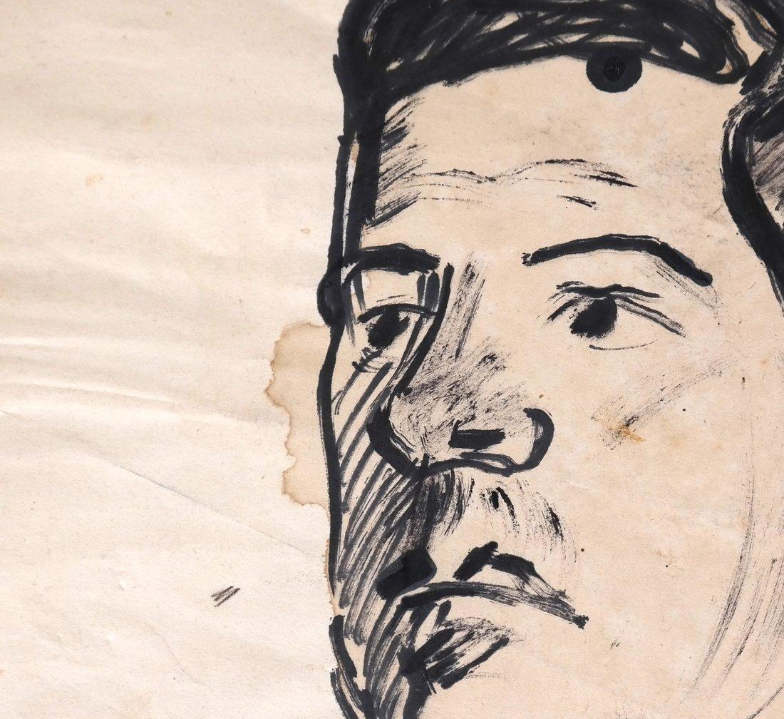 David Burliuk, Self Portrait - 6