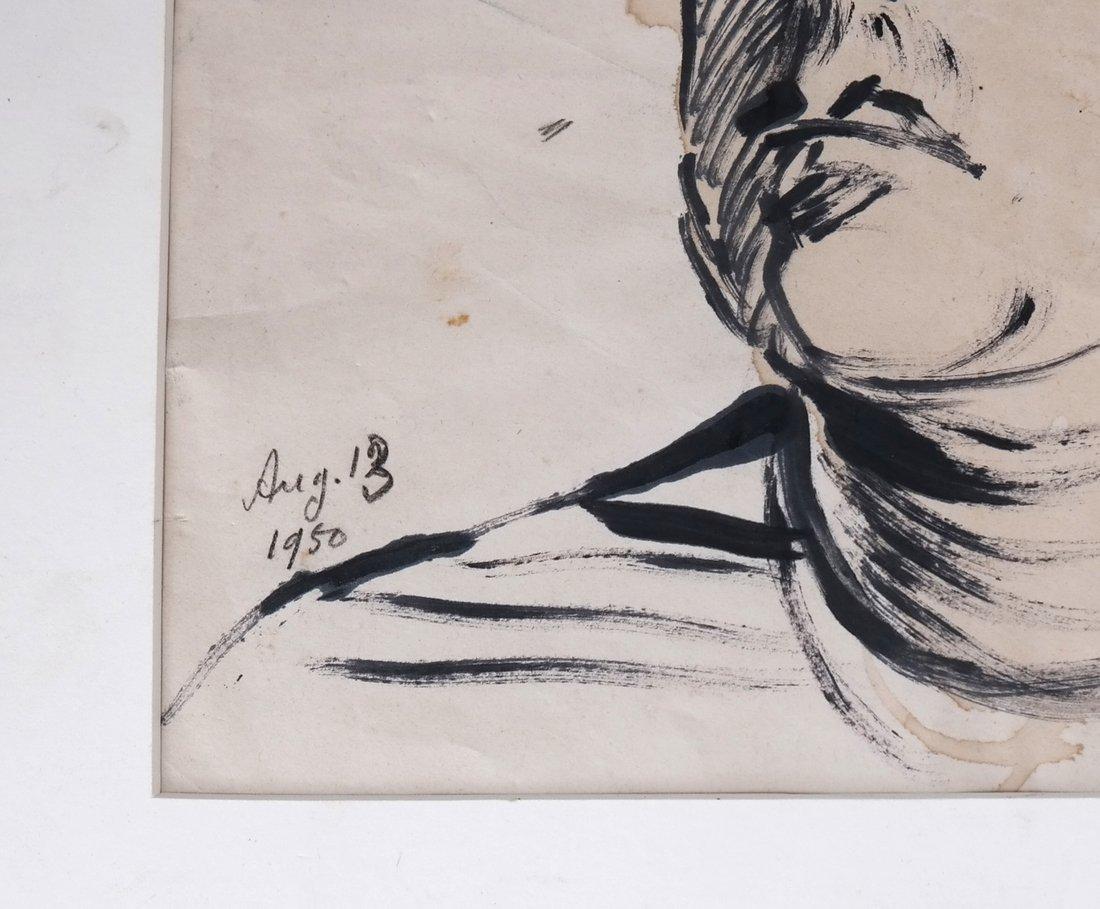 David Burliuk, Self Portrait - 7