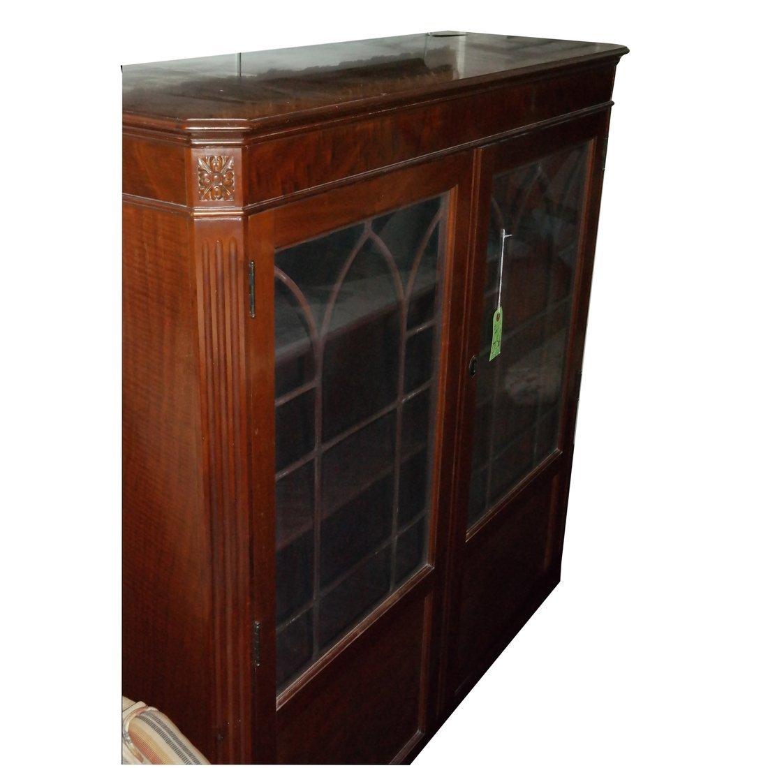 Antique Mahogany Bookcase