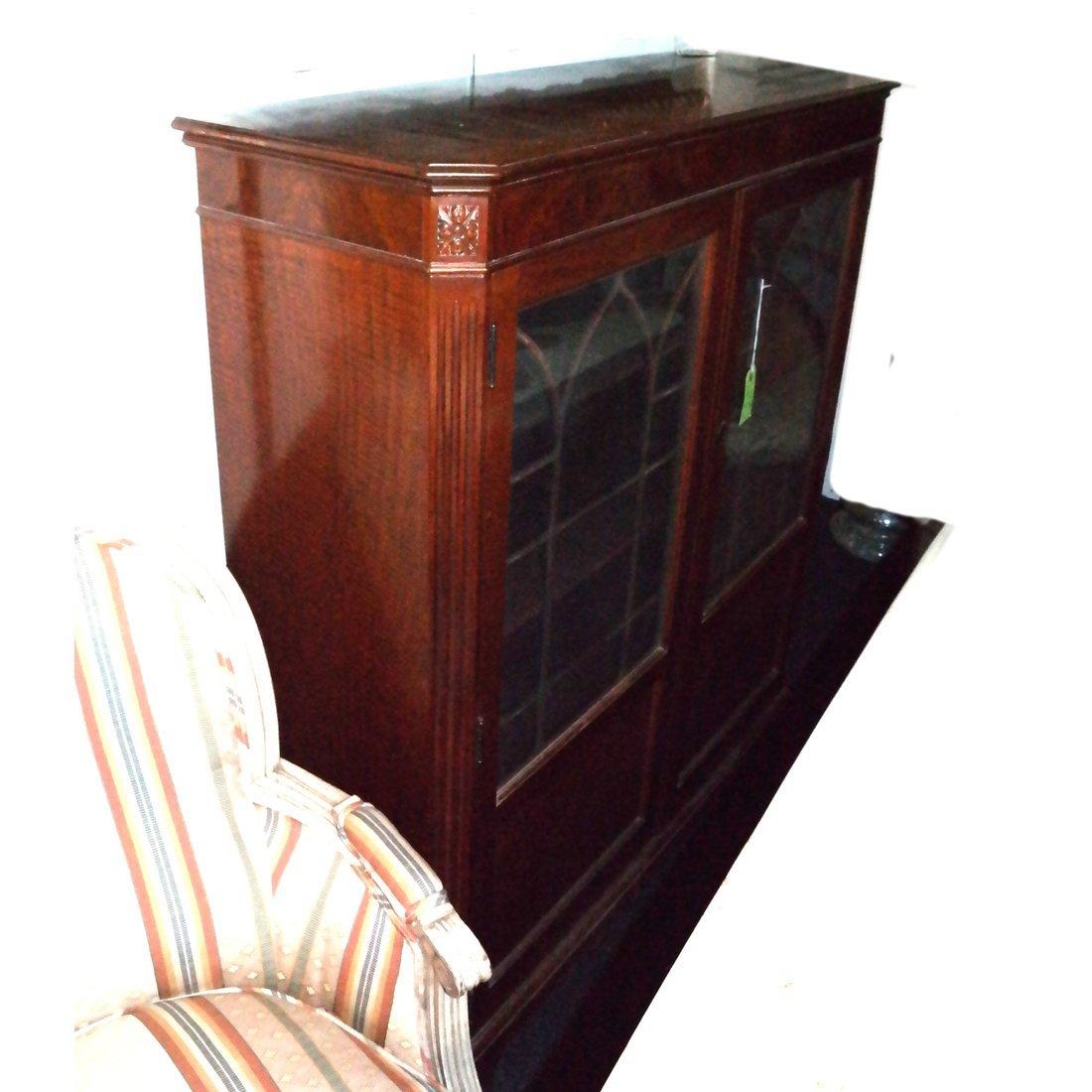 Antique Mahogany Bookcase - 3