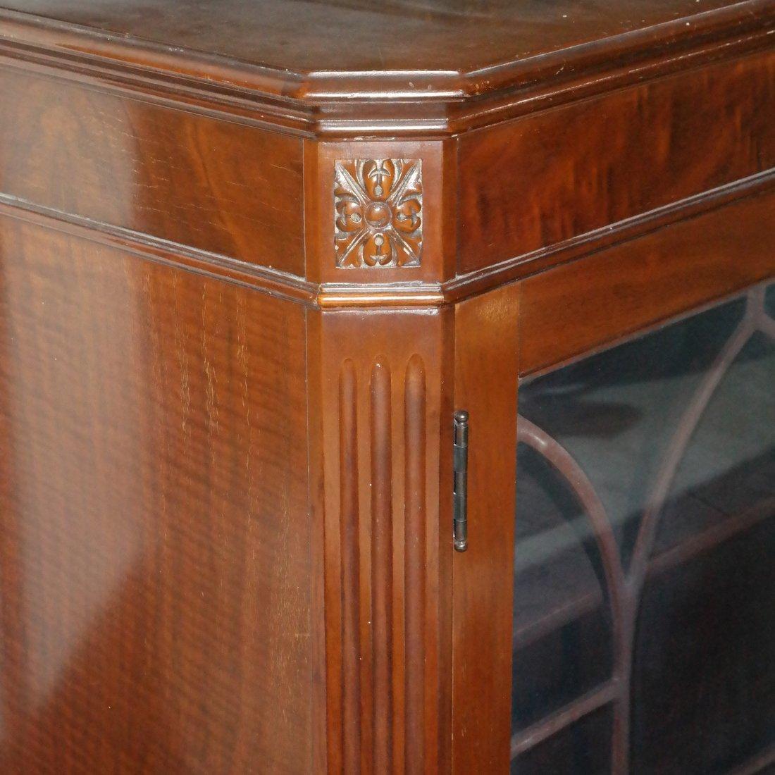 Antique Mahogany Bookcase - 4