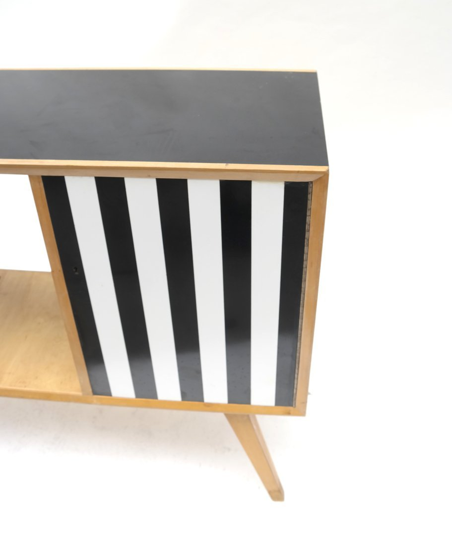 Modern Two-Tone Cabinet - 2