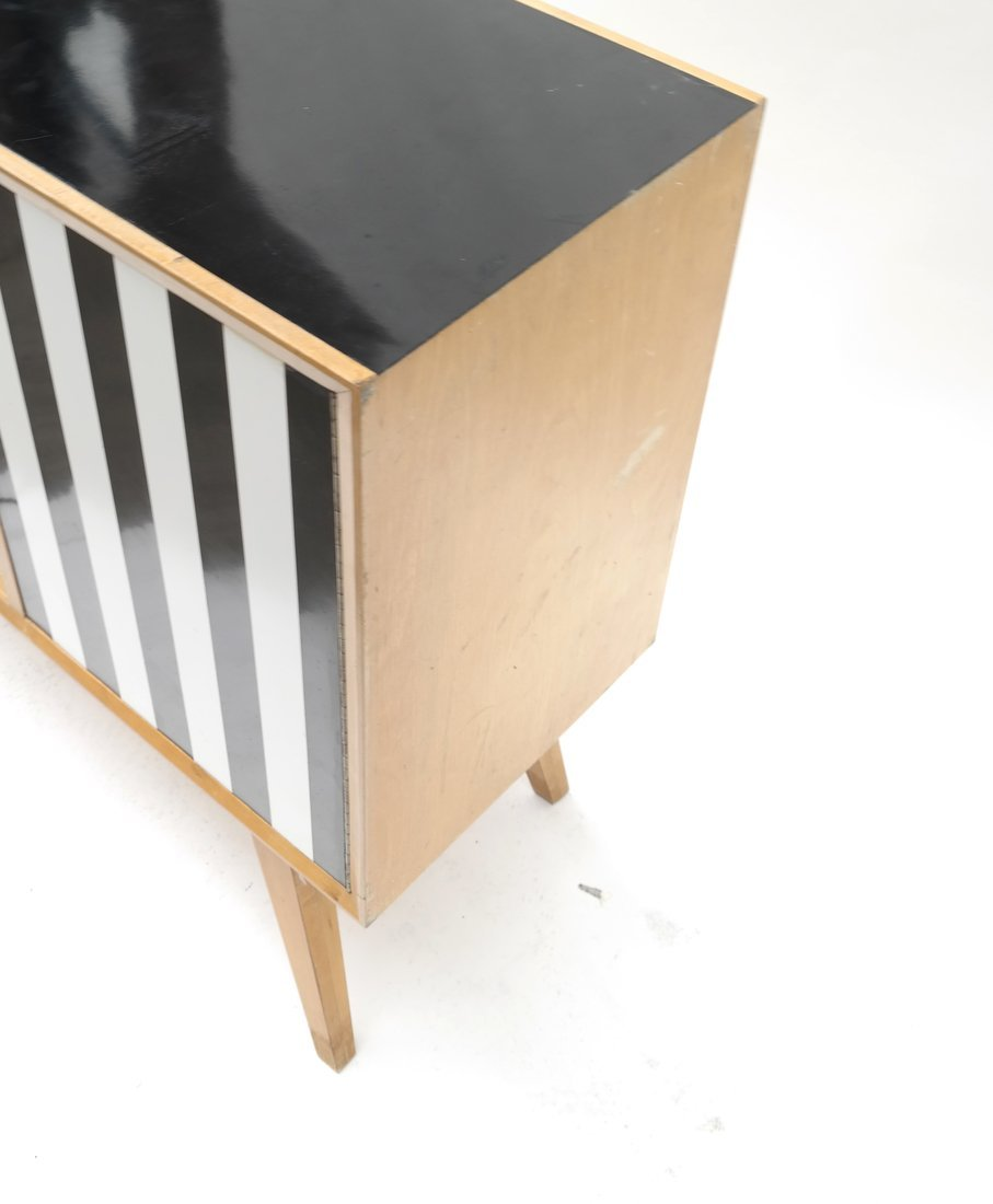 Modern Two-Tone Cabinet - 3