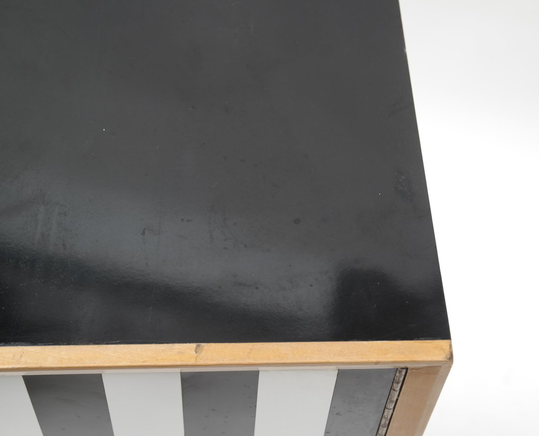 Modern Two-Tone Cabinet - 6
