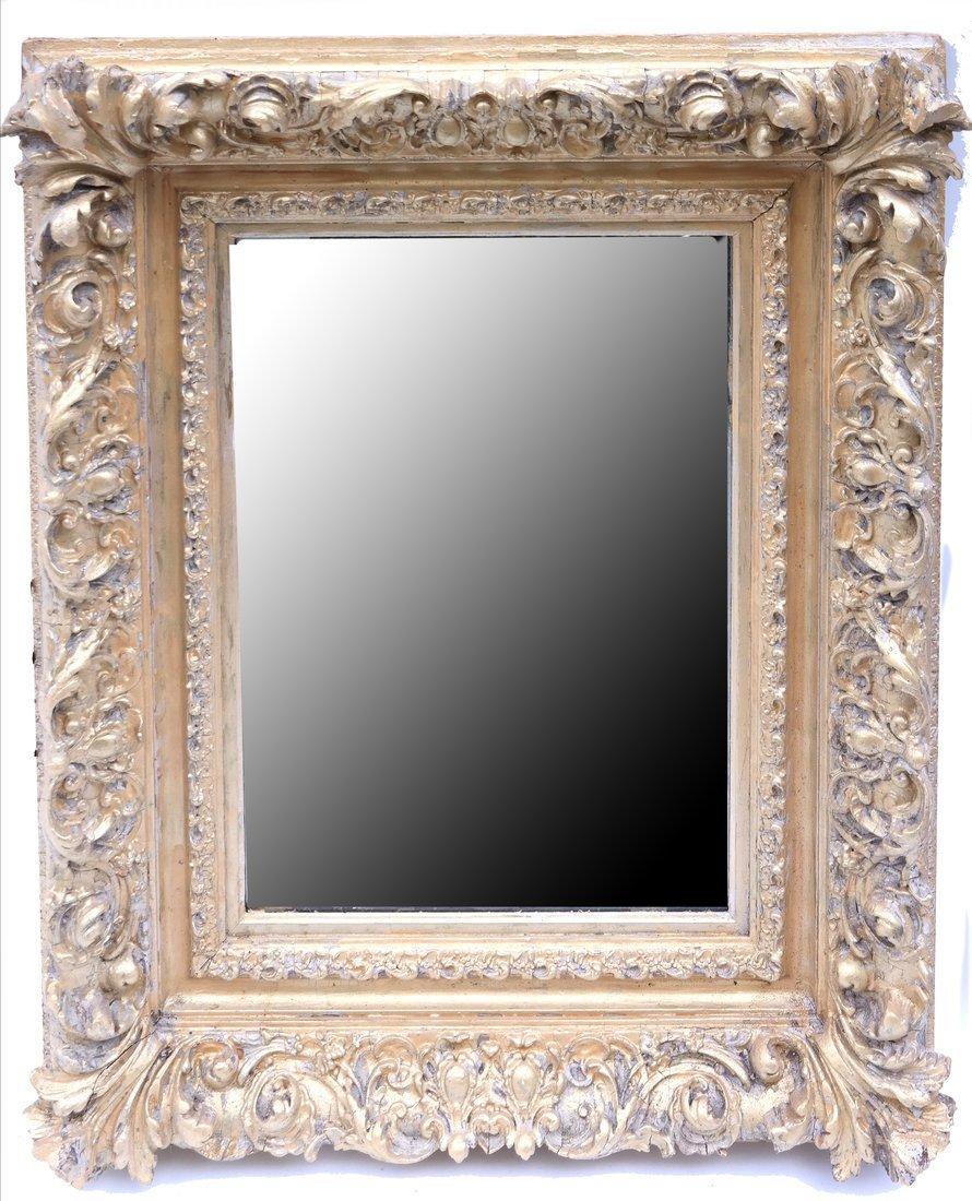 Ornate Gilt Mirror