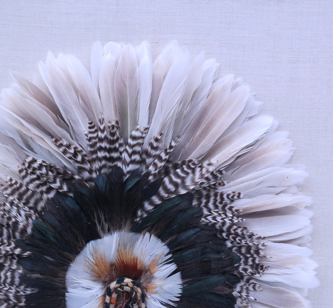 Feather Collage in Acrylic - 4