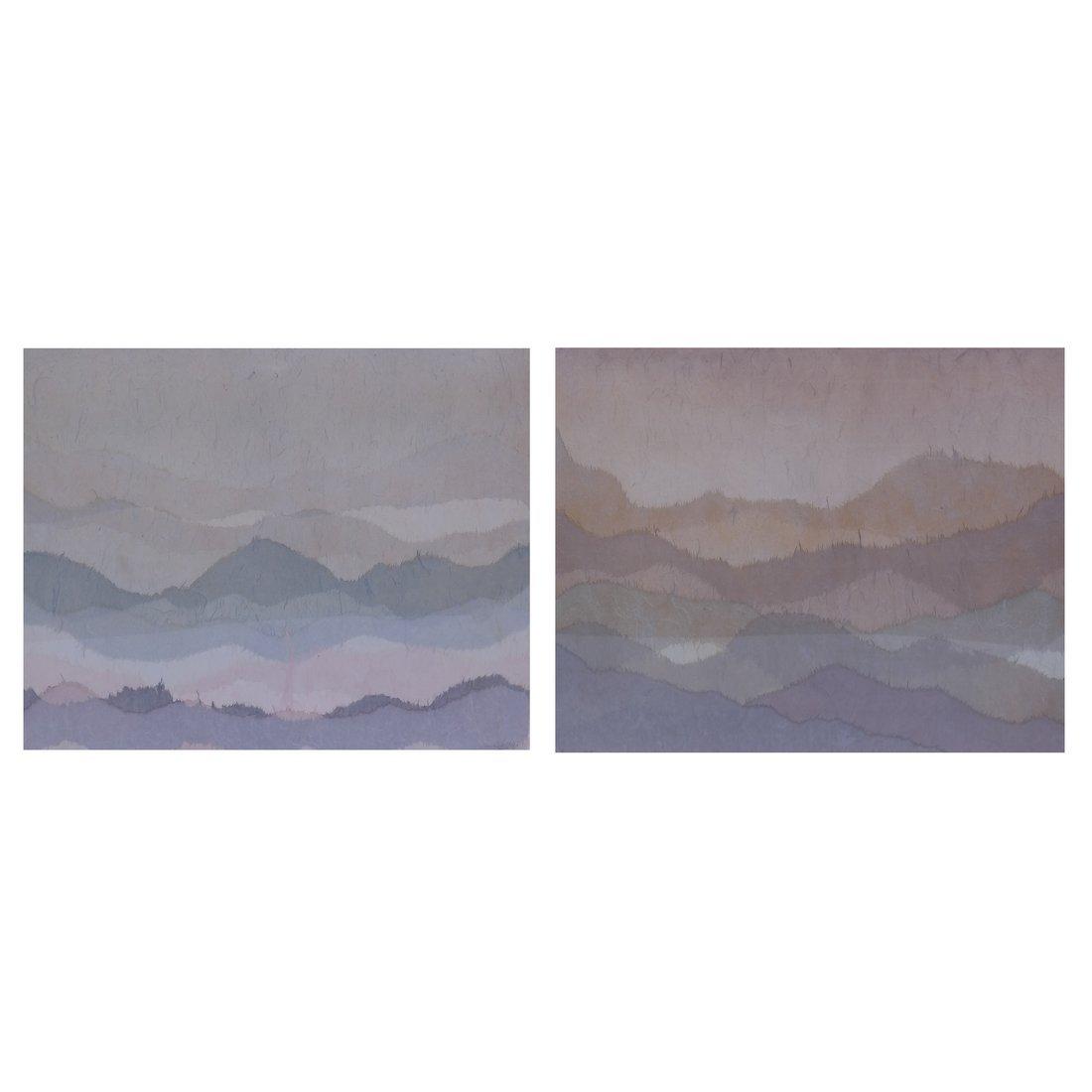 Lorenzo Alto, Pair of Collages