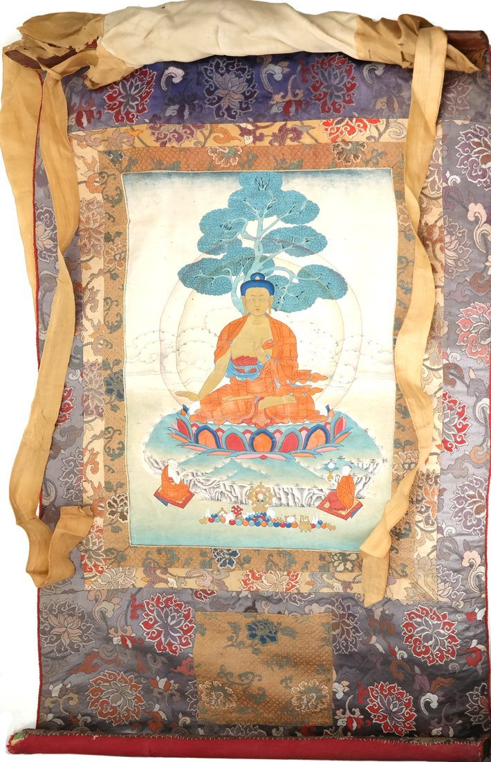 19th Century Thangka