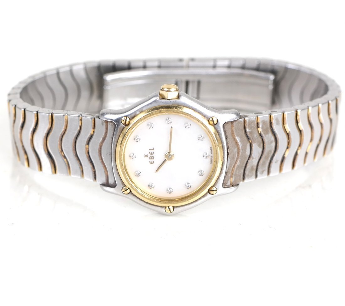 Ebel Watch, 18k and Stainless