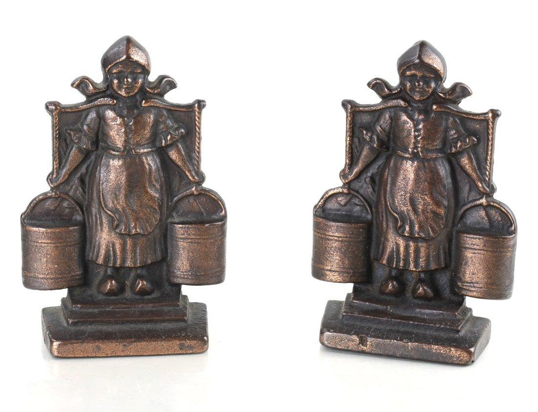 Five Cast Iron Dutch Figures - 10