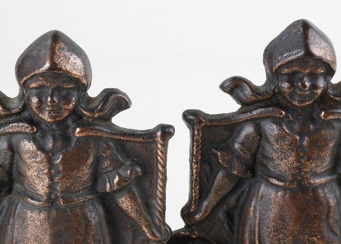 Five Cast Iron Dutch Figures - 2
