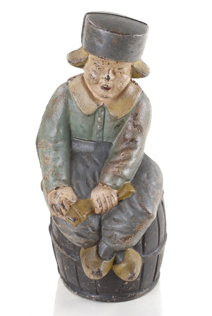 Five Cast Iron Dutch Figures - 6