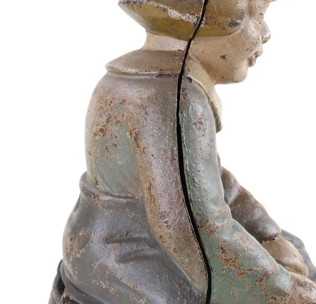 Five Cast Iron Dutch Figures - 7
