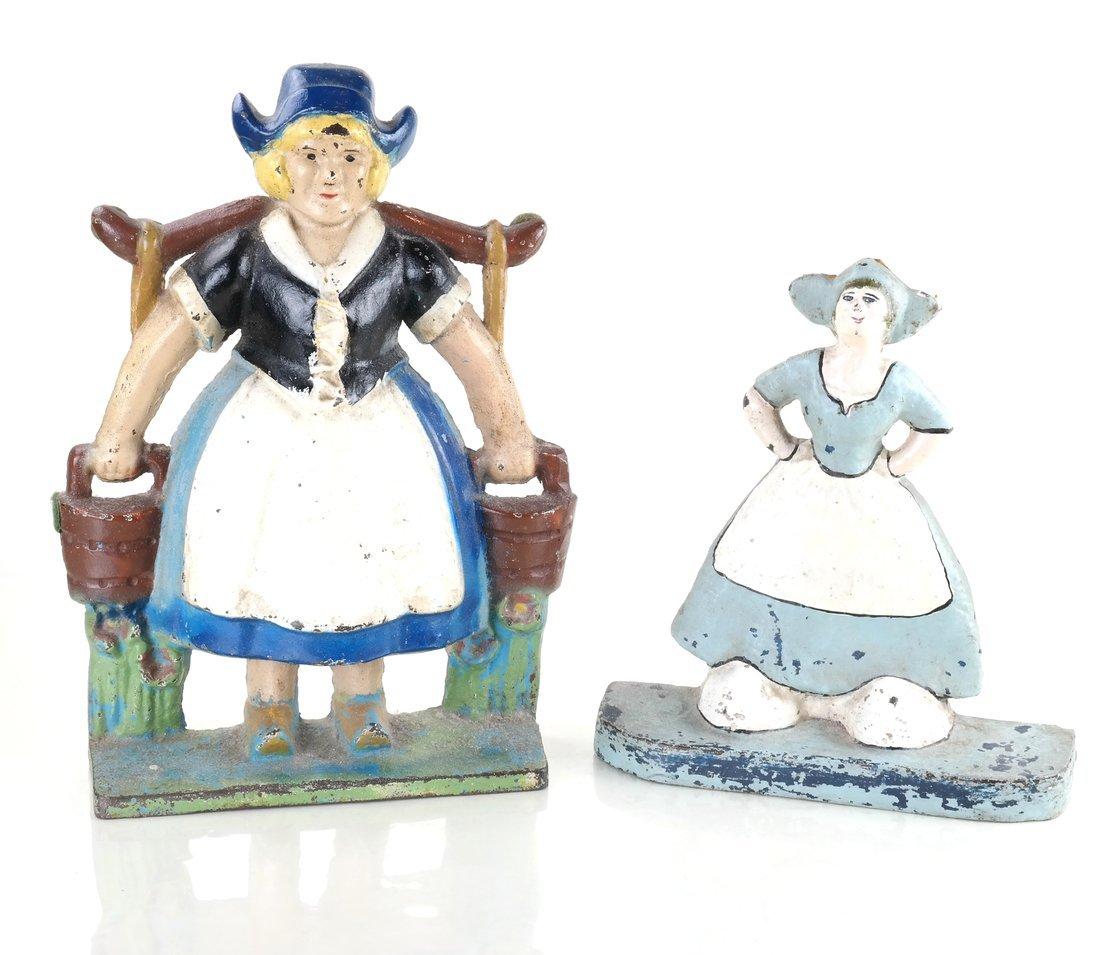 Five Cast Iron Dutch Figures - 8