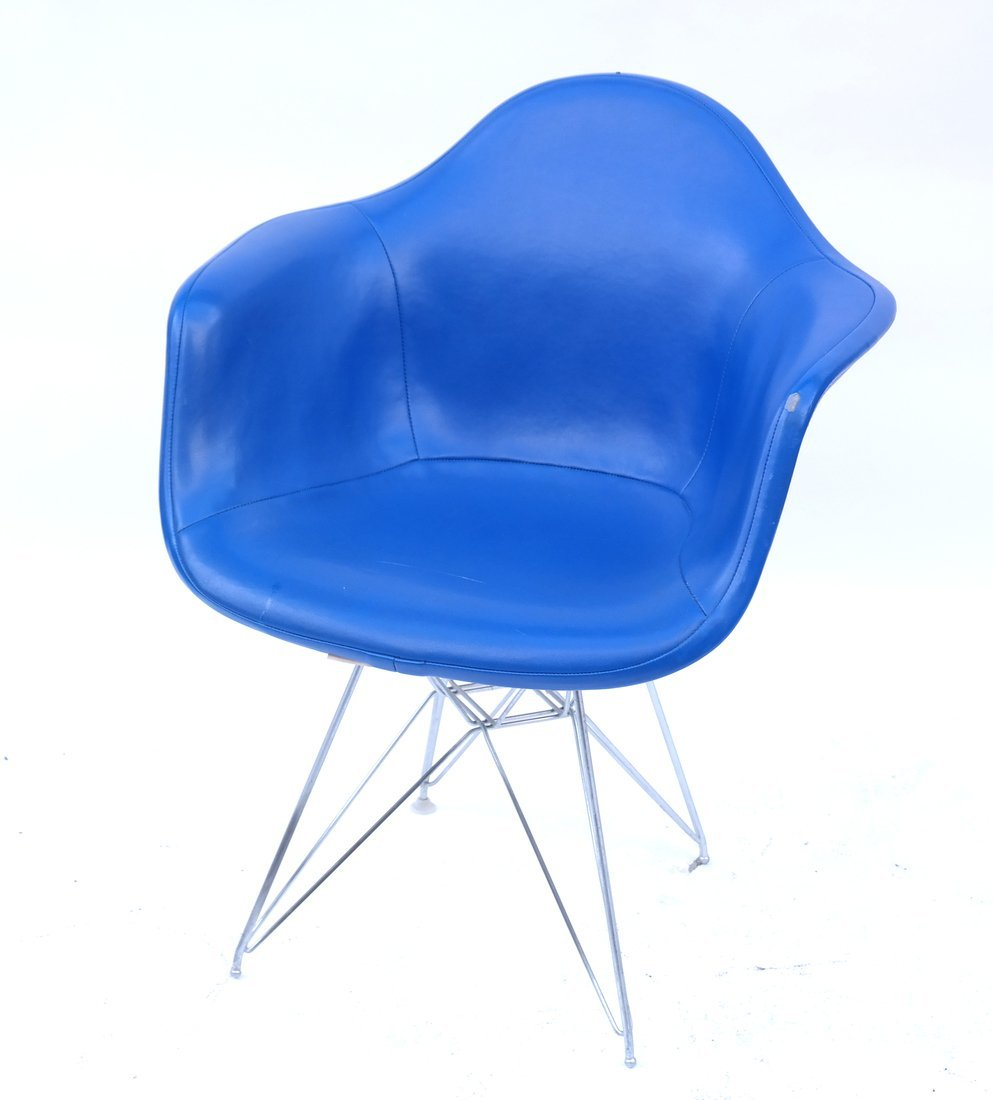 Herman Miller Blue Chair