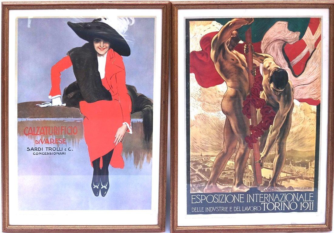 Set of Four Prints - 2