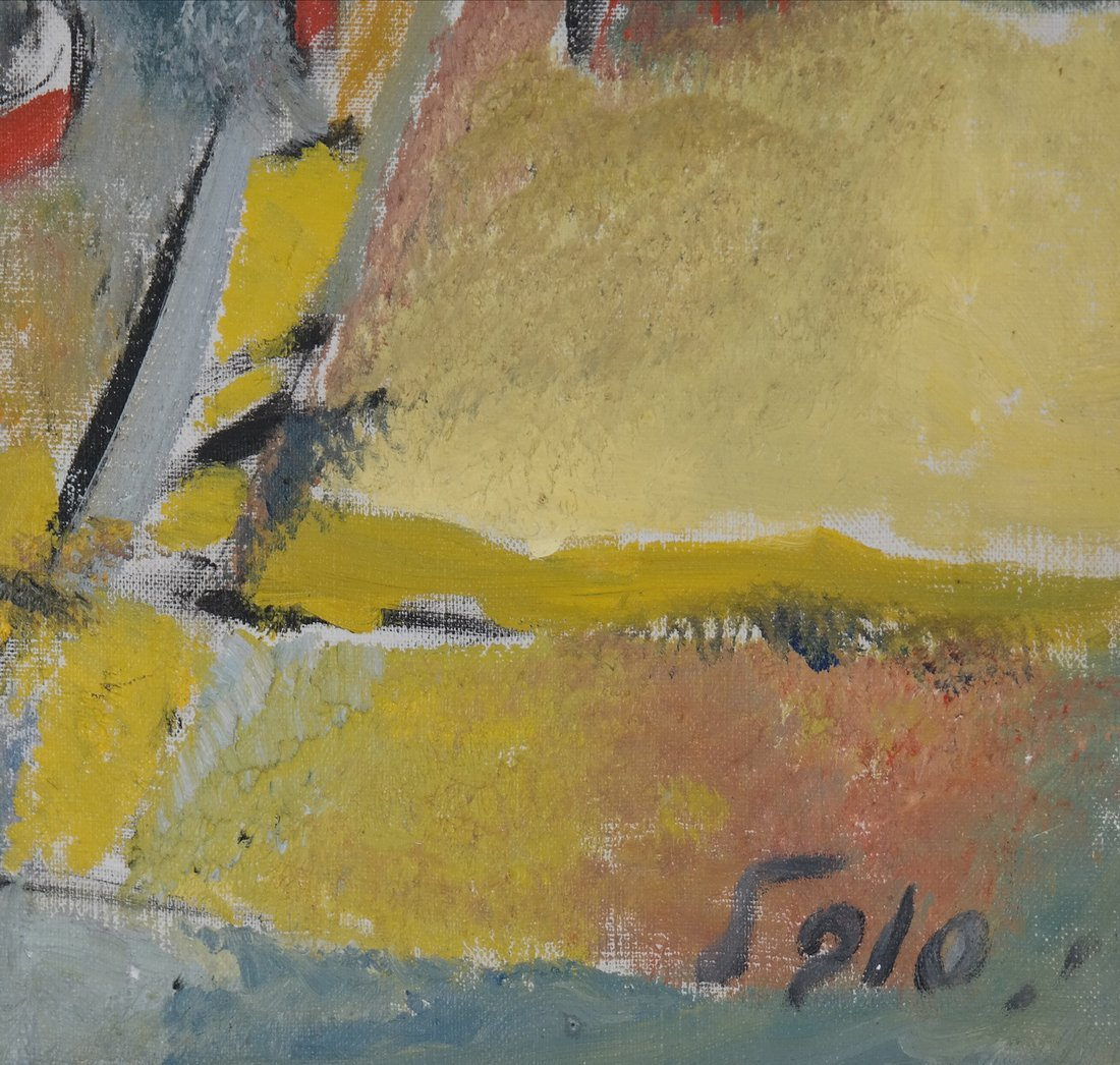 Sobel Abstract, Oil on Canvas - Figures - 3