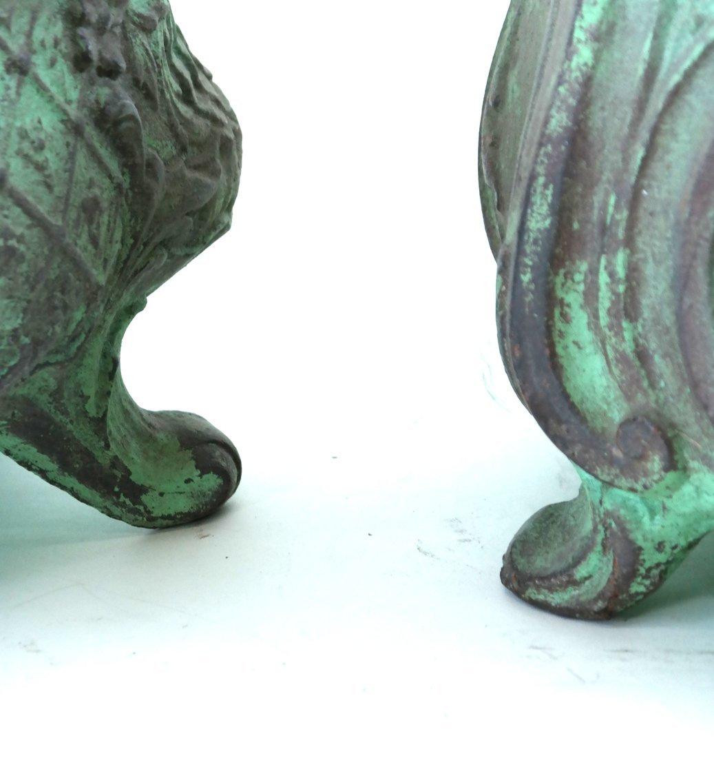 Two Iron Planters - 5