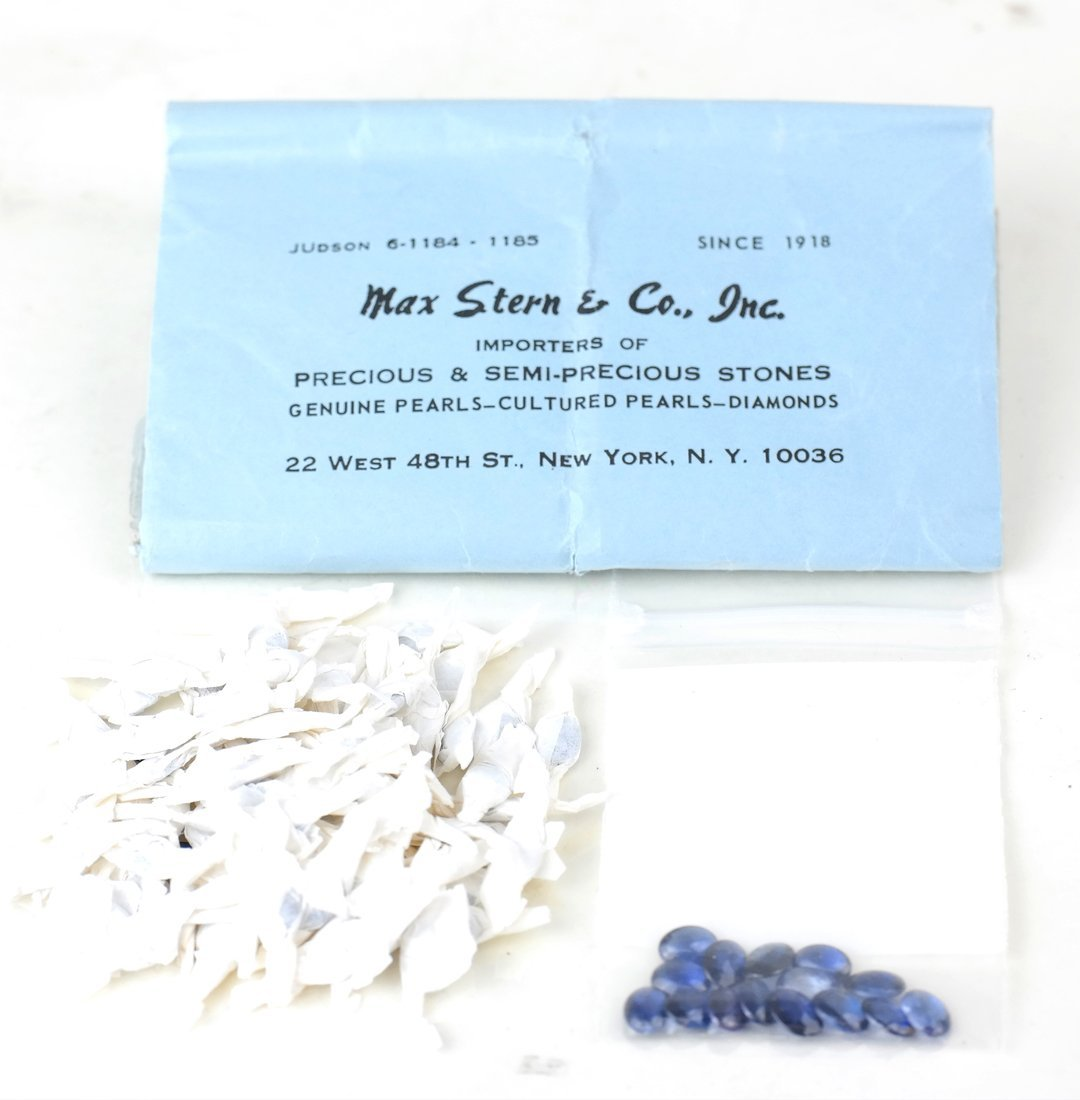Bag Assorted Synthetic Sapphires