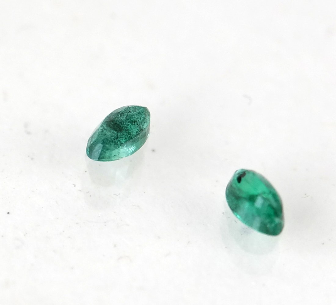 Group of Cut Emeralds - 2