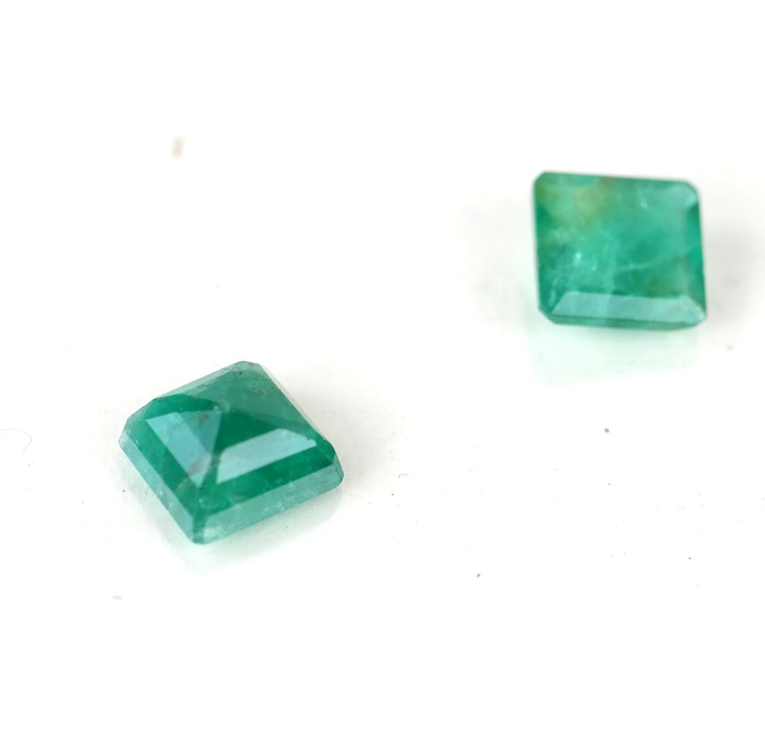 Group of Cut Emeralds - 3