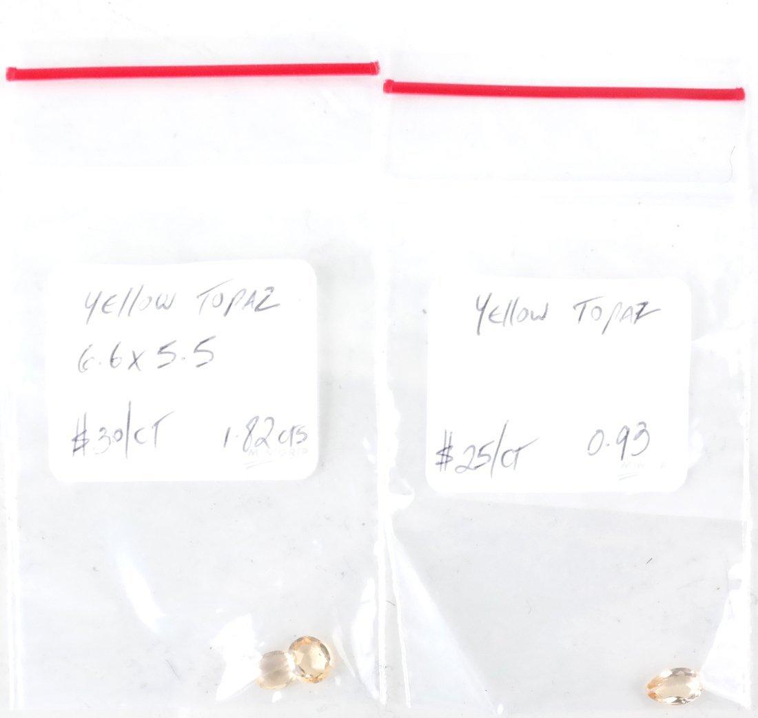Bag of Assorted Precious Topaz Stones - 2