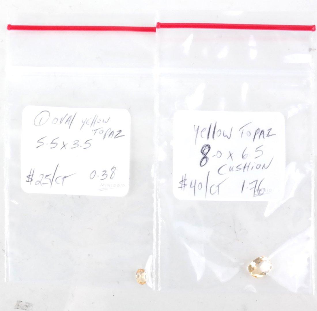 Bag of Assorted Precious Topaz Stones - 3