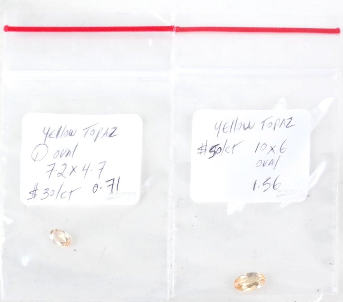 Bag of Assorted Precious Topaz Stones - 4