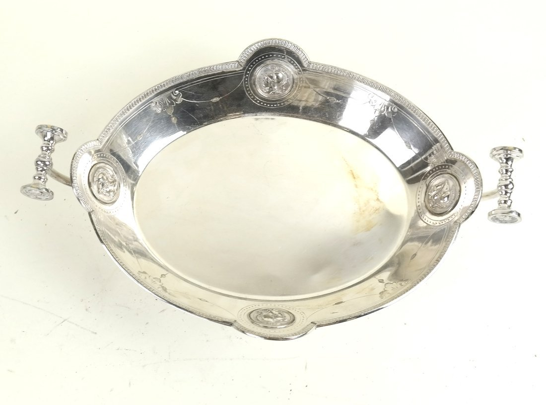 Pair of Silver Plate Trays - 2