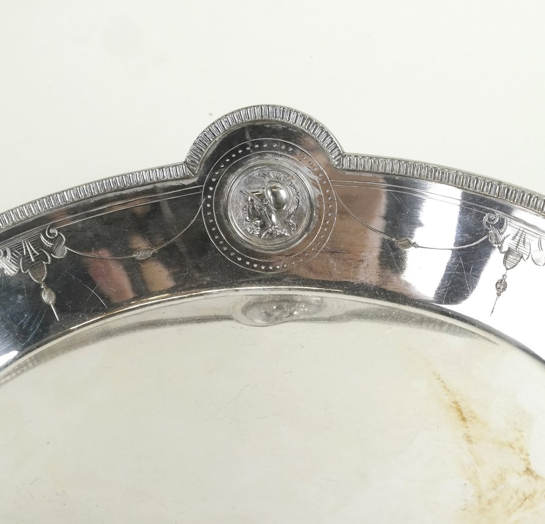 Pair of Silver Plate Trays - 4