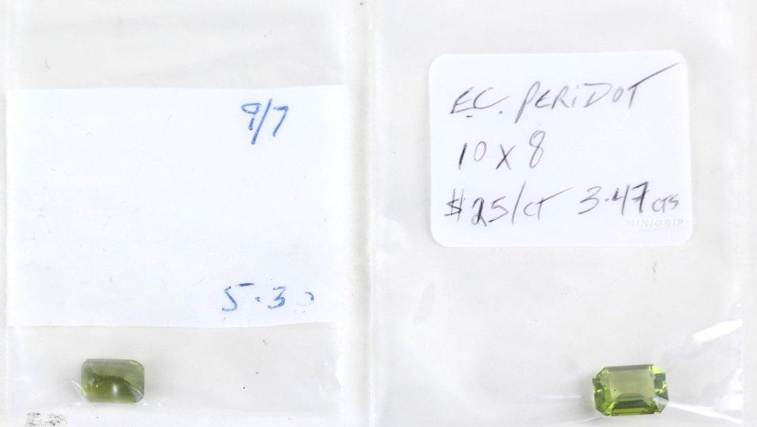 Bag of Assorted Peridots - 4