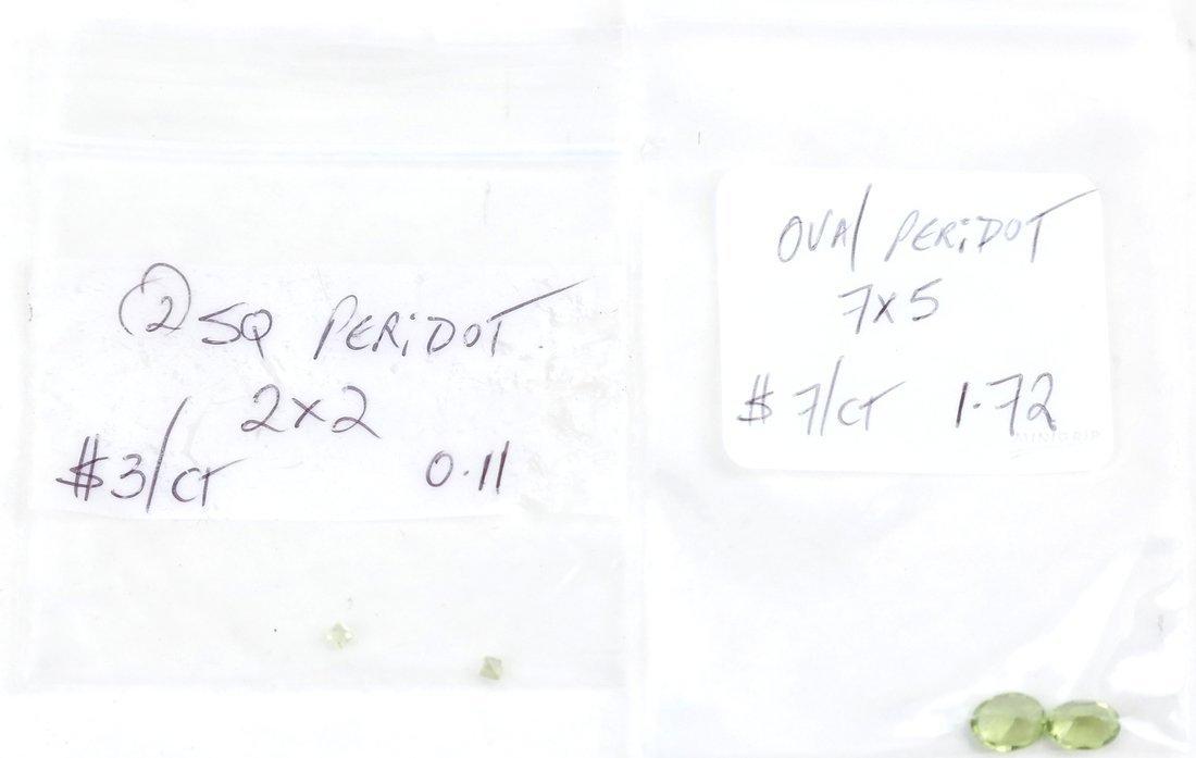 Bag of Assorted Peridots - 5