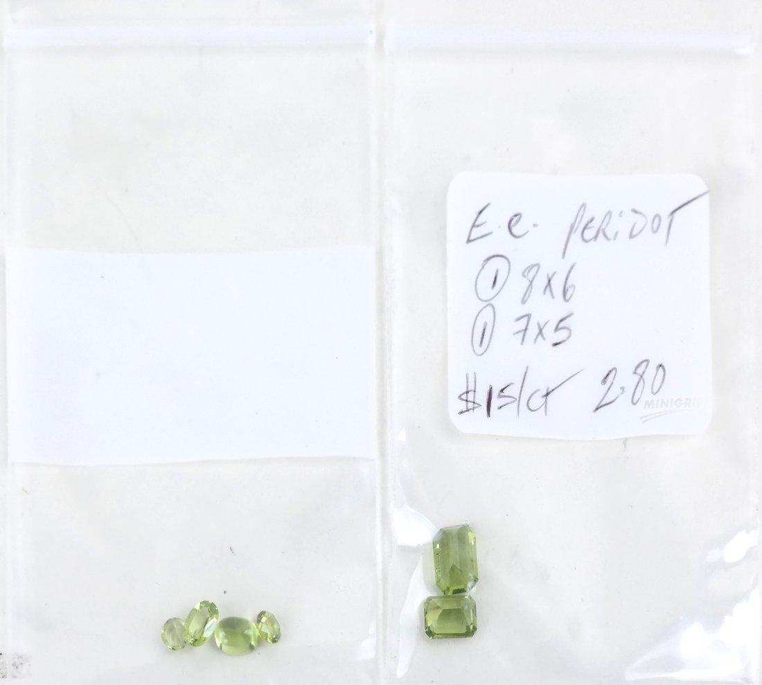Bag of Assorted Peridots - 6