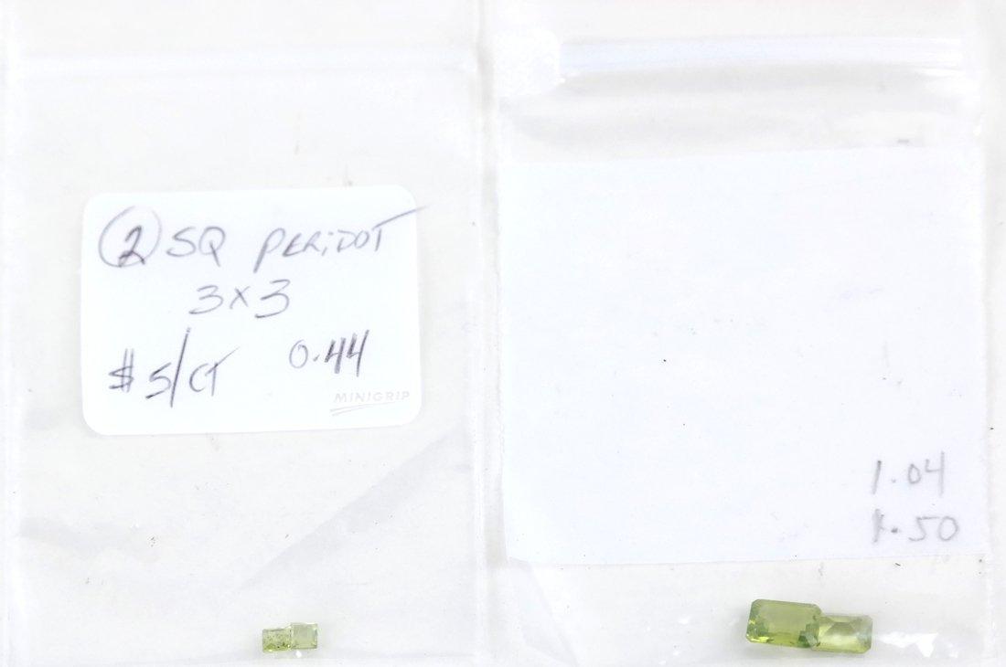 Bag of Assorted Peridots - 7
