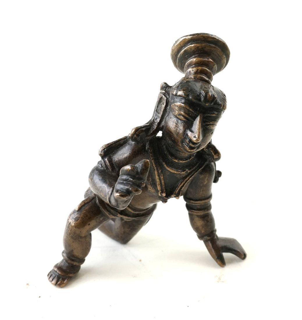 Antique Indian Balakrishna Figure