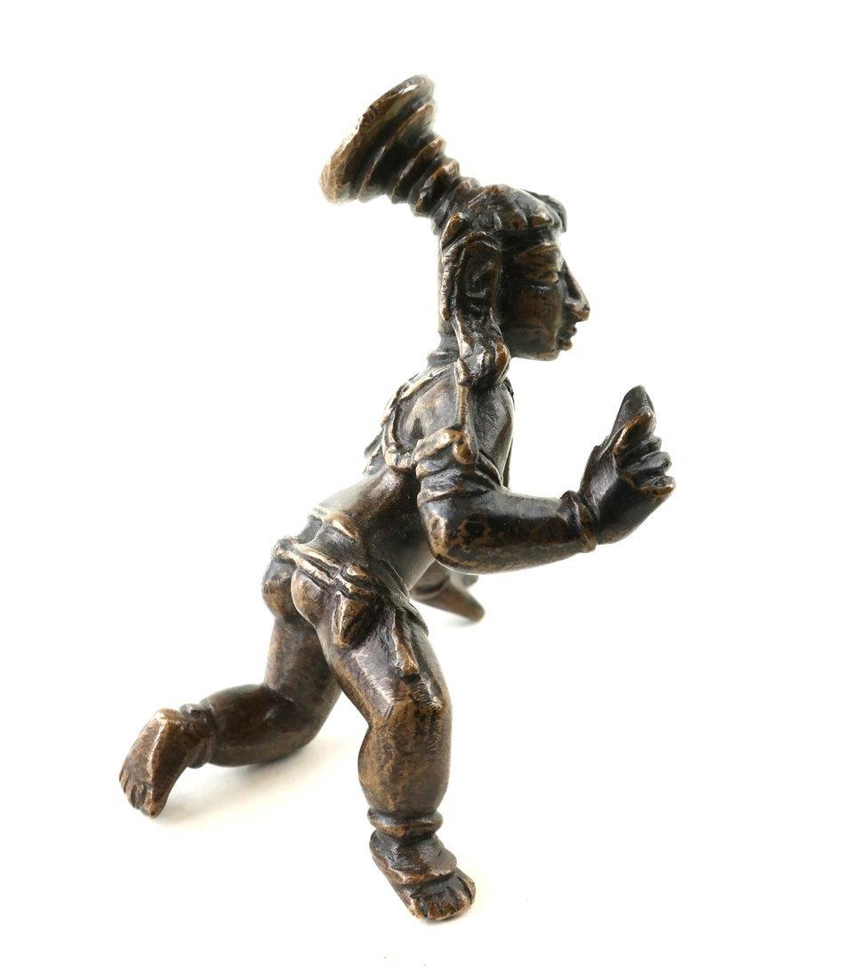 Antique Indian Balakrishna Figure - 2