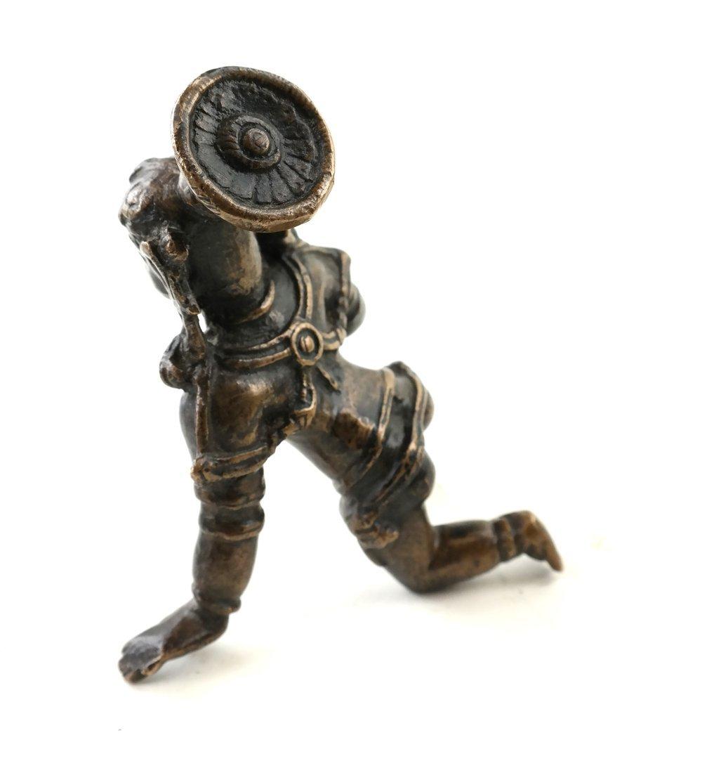 Antique Indian Balakrishna Figure - 3