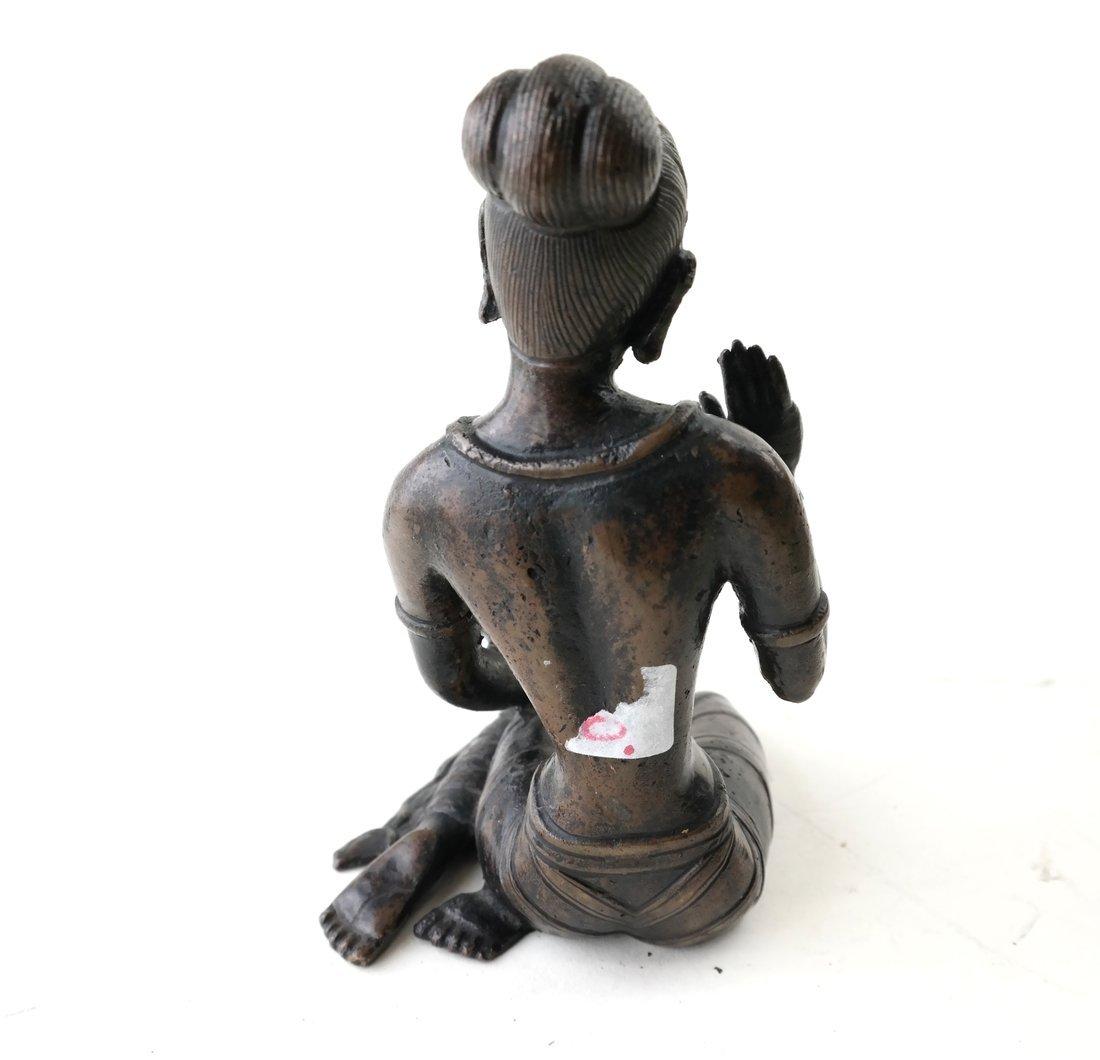 Antique Indian Bronze Figure - 3