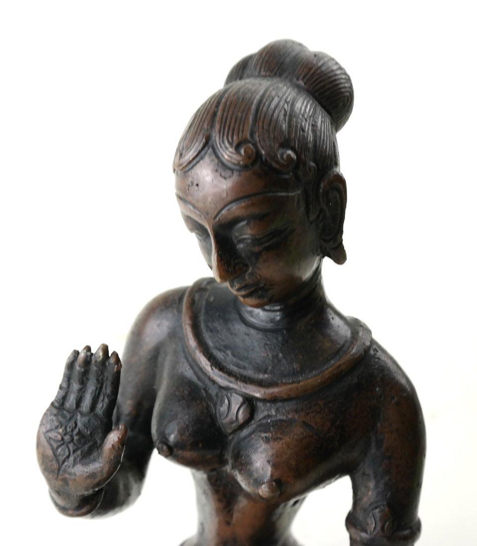 Antique Indian Bronze Figure - 6