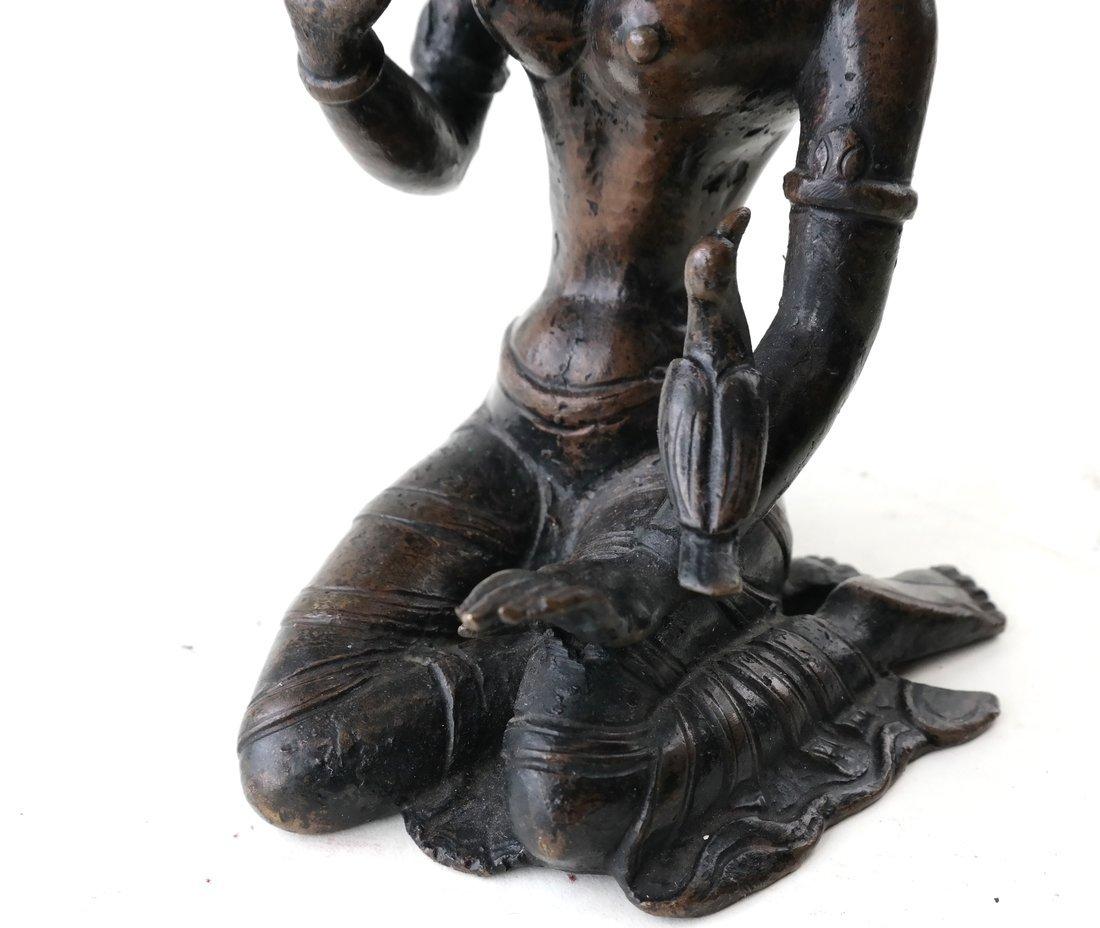 Antique Indian Bronze Figure - 8