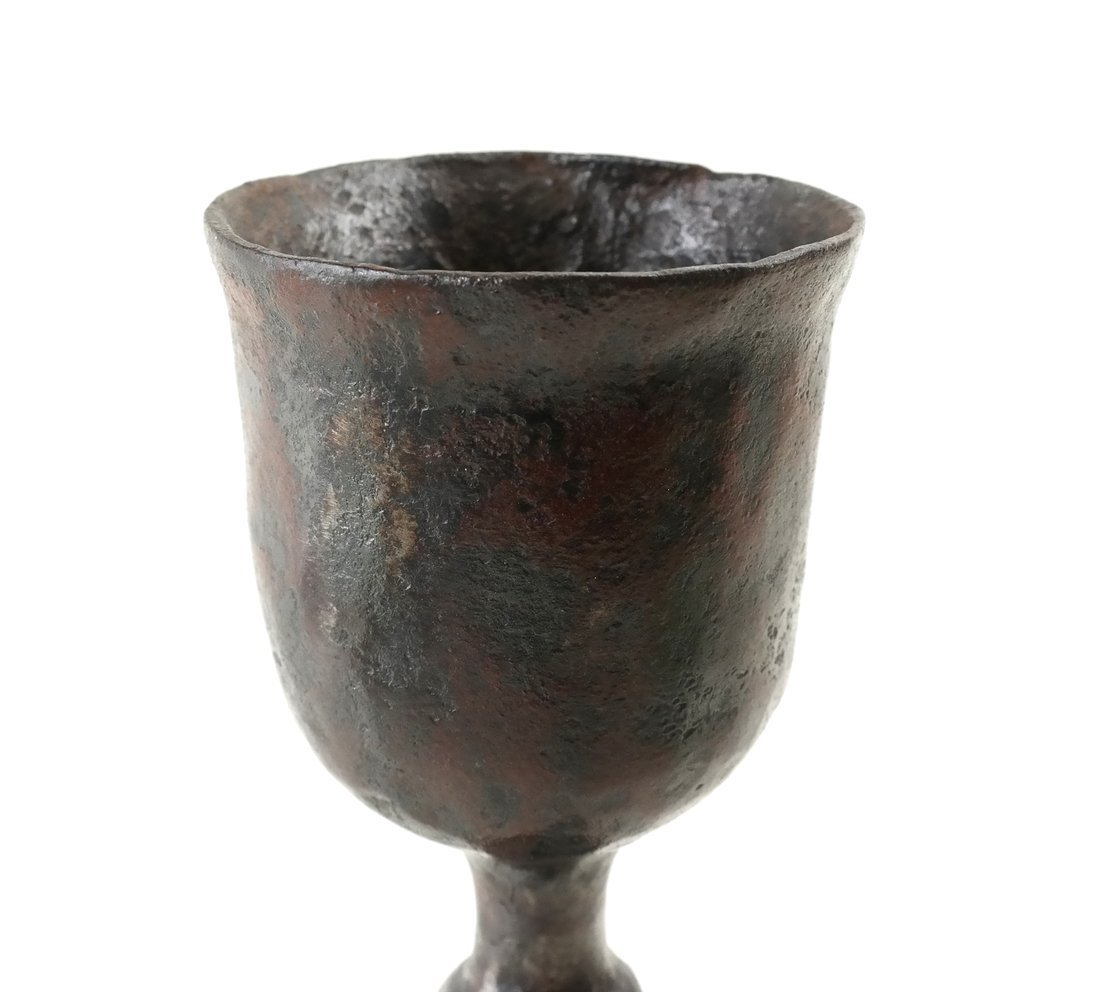 Hand Forged Wine Stem - 4